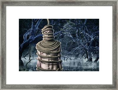 Ghost Of Doom Framed Print