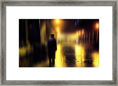Ghost Of Love 1 Framed Print by Jenny Rainbow