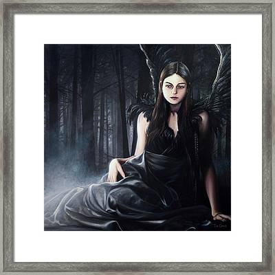 Ghost Of The Caledonian Forest Framed Print by Tim Davis