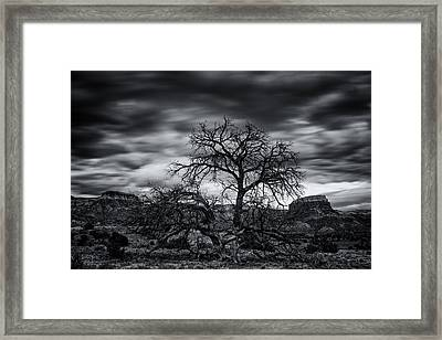 Ghost Ranch Abiquiu New Mexico Georgia On My Mind Framed Print