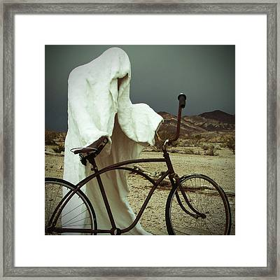 Ghost Rider Framed Print by Marcia Socolik