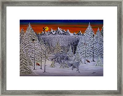 Ghost Riders Framed Print by Adele Moscaritolo