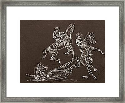 Ghost Riders In The Sky Framed Print
