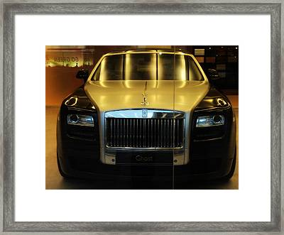 Rolls Royce Ghost Framed Print