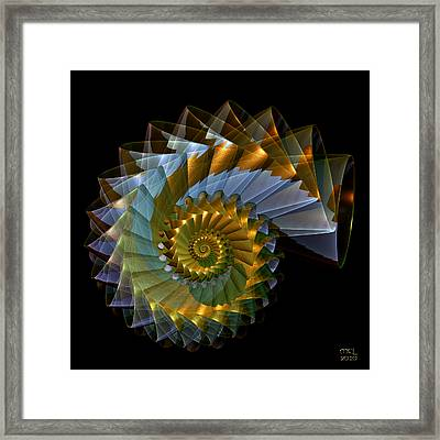 Ghost Shell Framed Print by Manny Lorenzo