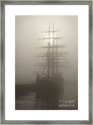 Ghost Ship Framed Print by Inge Riis McDonald