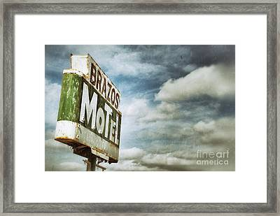 Ghost Signs Framed Print by AK Photography