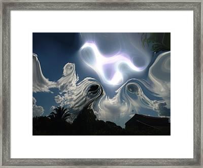 Ghost Sky Framed Print by Beto Machado