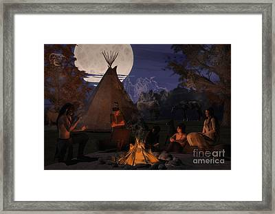 Ghost Stories Framed Print by Methune Hively