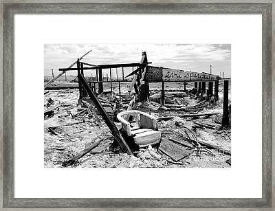 Ghost Town Framed Print by C Lythgo