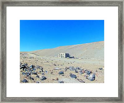 Ghost Town Candelaria 7 Framed Print