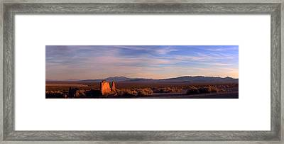 Ghost Town - Endless South Framed Print