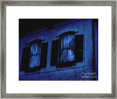 Ghost Town Resident Framed Print by Tom Straub