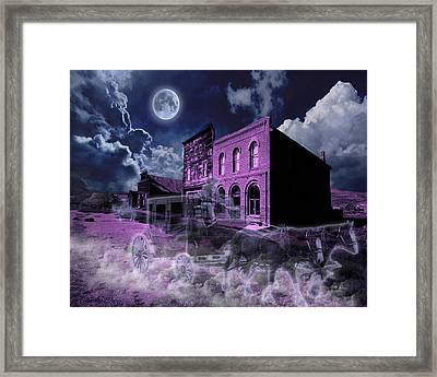 Ghost Town Framed Print by Tim Vincent