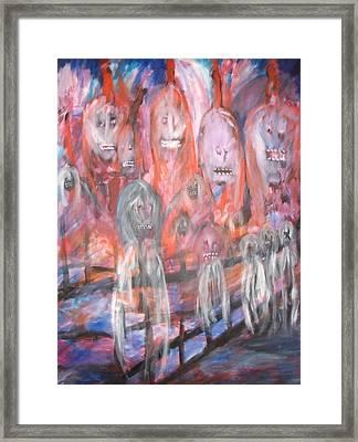 Ghost Walk Framed Print by Randall Ciotti