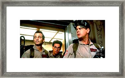 Ghostbusters Framed Print by Paul Tagliamonte
