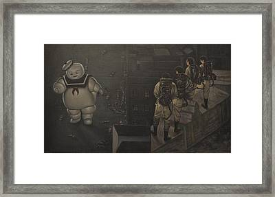 Ghostbusters Framed Print by Riard