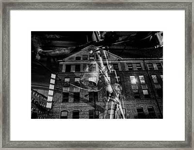 Ghostcyckle Framed Print