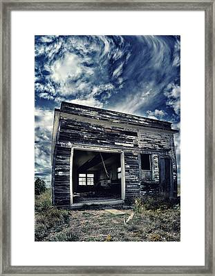 Ghostly Cage Framed Print by Starlux  Productions