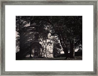 Ghostly Fortress Framed Print by Joan Carroll