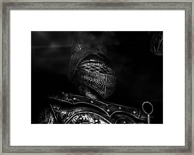 Ghostly Knight Framed Print