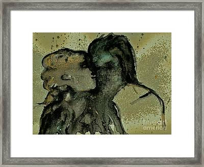 Ghostly Lovers Framed Print