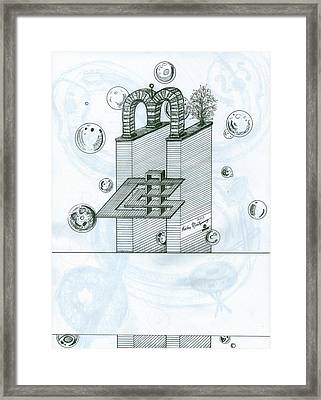 Ghostly Music 1 Framed Print by Richie Montgomery