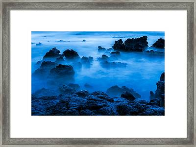 Ghostly Ocean 1 Framed Print