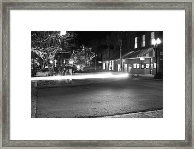Ghostly Framed Print by Thomas Leon