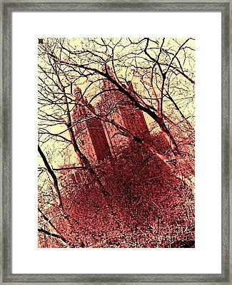 Ghostly Towers Framed Print