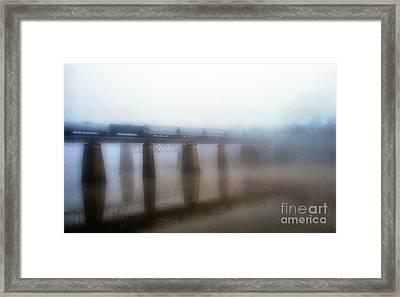 Ghostly Transport Framed Print by Skip Willits