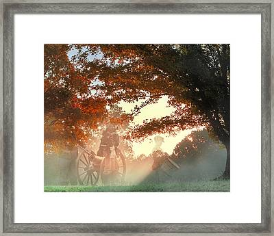 Ghosts At Fort Donelson Framed Print