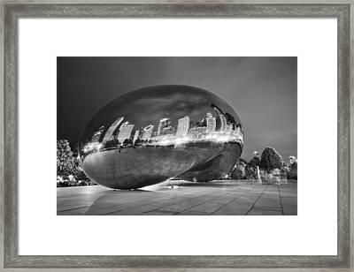 Ghosts In The Bean Framed Print
