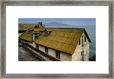 Ghosts Of Alcatraz Framed Print by Mountain Dreams