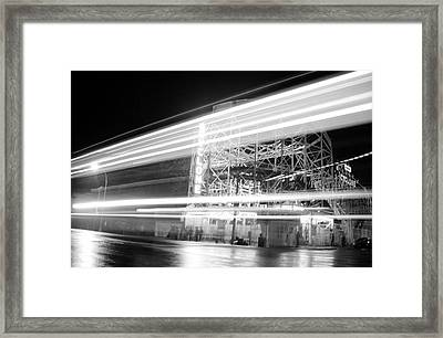 Ghosts Of Coney Island Framed Print