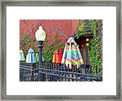 Ghosts Of Good Times Past Framed Print by MJ Olsen