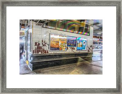 Framed Print featuring the photograph Ghosts Of London Bridge by Ross Henton