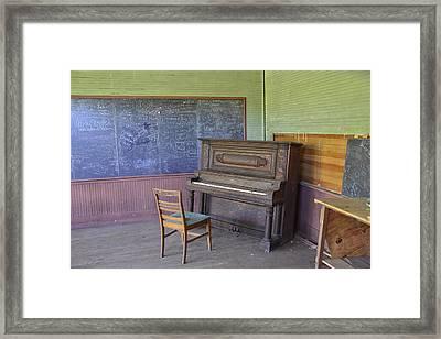 Ghosts Of Musical Notes Framed Print by James Langner