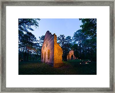Ghosts Of Pon-pon Framed Print by Chris Smith