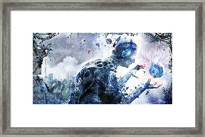 Ghosts Of The Concrete World Framed Print