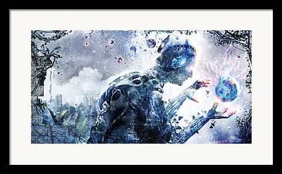 Evolve Framed Prints