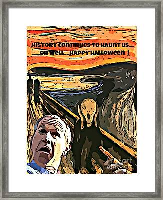 Ghosts Of The Past Framed Print by John Malone