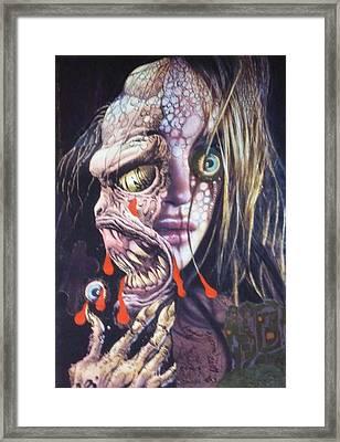 Ghoulshead Framed Print