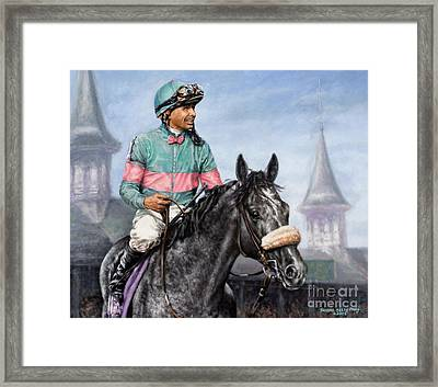 Giacomo At Churchill Framed Print by Thomas Allen Pauly