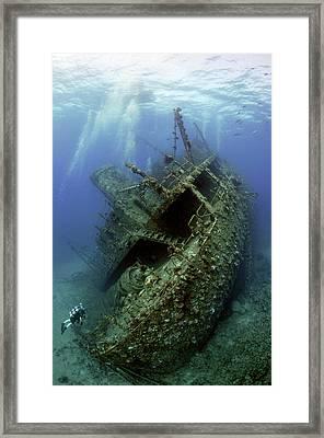 Giannis D Wreck. Framed Print
