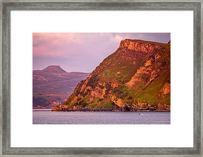 Giant Cliff Framed Print by Yuri Fineart