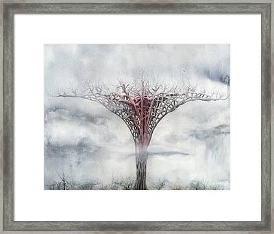 Giant Plant Framed Print