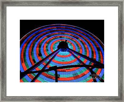 Giant Wheel Framed Print by Mark Miller