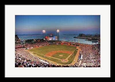 Att Ballpark Framed Prints