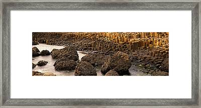 Giants Causeway, Antrim Coast, Northern Framed Print by Panoramic Images